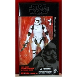 Picture of Star Wars Force Awakens First Order Stormtrooper Black Series Action Figure