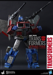 Picture of Transformers Optimus Prime Starscream Version 1:6 Scale Hot Toys Figure