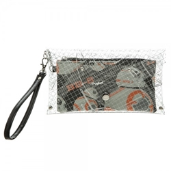 Picture of Star Wars 7 BB8 Clear Envelope with Wristlet