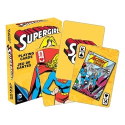 Picture of DC Supergirl Playing Cards