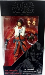 Picture of Star Wars Force Awakens Poe Dameron Black Series Action Figure