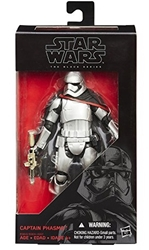 Picture of Star Wars Force Awakens Captain Phasma Black Series Action Figure