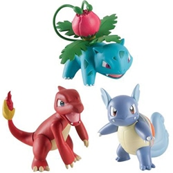 Picture of Pokemon Action Pose Figure 3-Pack