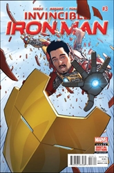 Picture of Invincible Iron Man (2015) #3