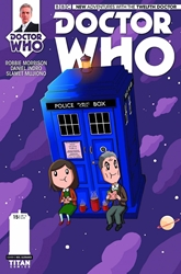 Picture of Doctor Who 12th Doctor #15 Slorance Cover