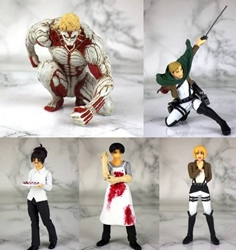 Picture of Attack on Titan Real Figure Collection Kaiyodo Trading Figure Blind Box