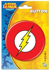 "Picture of The Flash Logo 3"" Button"