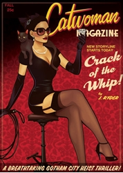 Picture of Catwoman Bombshell Magnet