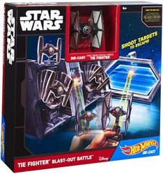 Picture of Star Wars Tie Fighter Blast-Out Battle Hot Wheels Play Set