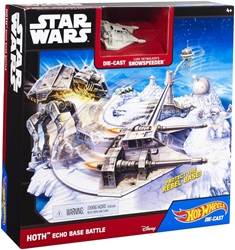 Picture of Star Wars Hoth Echo Baste Battle Hot Wheels Play Set