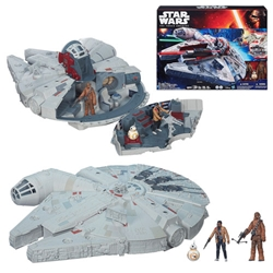Picture of Star Wars Episode VII Force Awakens Millennium Falcon Vehicle