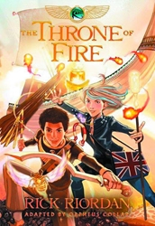 Picture of Kane Chronicles Vol 02 SC Throne of Fire