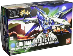 Picture of Gundam Build Fighters Gundam Amazing Exia PPSE Works Meijin Kawaguchi Custom Made Mobile Suit HG Model Kit