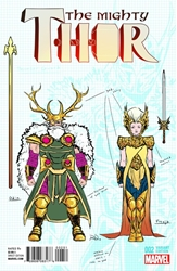 Picture of Mighty Thor #2 Design 1:20 Variant