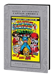 Picture of Marvel Masterworks Captain America Vol 08 HC