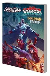 Picture of Amazing Spider-Man/All-New Captain America/Inhuman Error SC