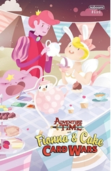 Picture of Adventure Time Fionna & Cake Card Wars #6 Dunlap Cover