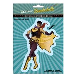 Picture of DC Comics Bombshells Batgirl Window Decal Sticker