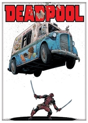 Picture of Deadpool Ice Cream Magnet