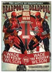 Picture of Deadpool Kills Deadpool Magnet
