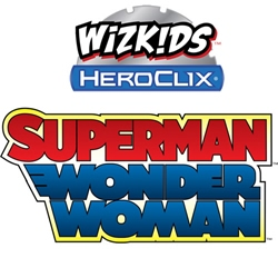 Picture of DC Heroclix Superman Wonder Woman Booster Pack