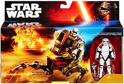 Picture of Star Wars Assault Walker with First Order Stormtrooper Officer Action Figure Set