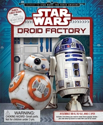 Picture of Star Wars Droid Factory Activiy Book