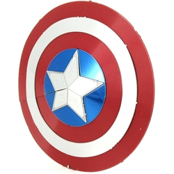 Picture of Marvel Captain America Shield Metal Earth 3D Metal Model Kit
