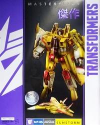 Picture of Transformers Masterpiece Sunstorm Action Figure Toys R Us Exclusive TRU Decepticon