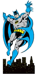 Picture of Batman Card & Stickers