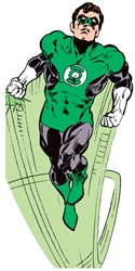 Picture of Green Lantern Card Stickers