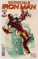 Picture of Invincible Iron Man #1 CBLDF Variant