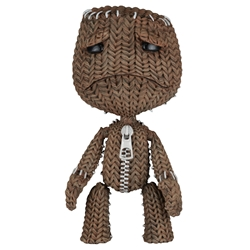 "Picture of Little Big Planet Sad Sackboy Series 1 7"" Scale Figure"