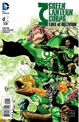 Picture of Green Lantern Corps Edge of Oblivion #1