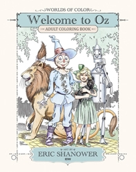 Picture of Worlds of Color Welcome to Oz Adult Coloring Book