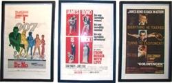 Picture of James Bond Original Movie Poster Set