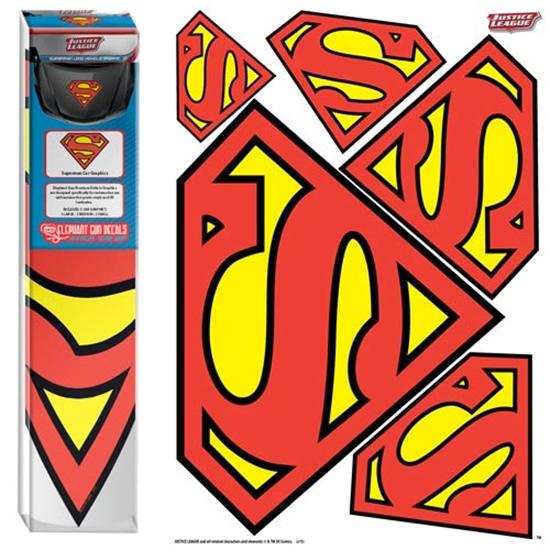 supermanlogocargraphicsset