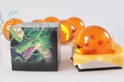 Picture of Dragon Ball Z Large Crystal Four Star Ball