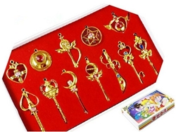 Picture of Sailor Moon Pendant Necklace Set