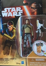 Picture of Star Wars Rebels Kanan Jarrus Snow Desert Series 2 Action Figure