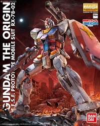 Picture of Gundam Origin RX-78-2 MG Model Kit