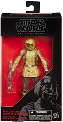 "Picture of Star Wars Black Series 6"" Resistance Fighter Action Figure"