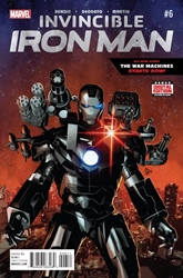 Picture of Invincible Iron Man (2015) #6