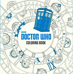 Picture of Doctor Who Coloring Book HC