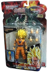 Picture of Dragon Ball Z Goku Super Saiyan 3 Hybrid Action Ultra Dragon Legend Figure