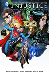 Picture of Injustice Gods Among Us Year 3 Vol 02 SC