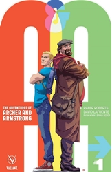 Picture of A&A Adventures of Archer & Armstrong #1 Kano Cover