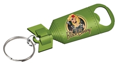 Picture of DC Bombshells Black Canary Bottle Opener Keychain