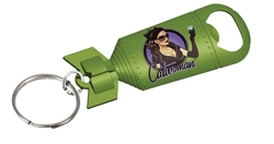 Picture of DC Bombshells Catwoman Bottle Opener Keychain