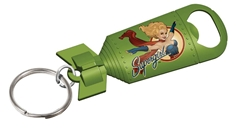 Picture of DC Bombshells Supergirl Bottle Opener Keychain